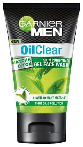 Garnier Facewash Men Oil Clear Matcha Dtox Gel 50 g