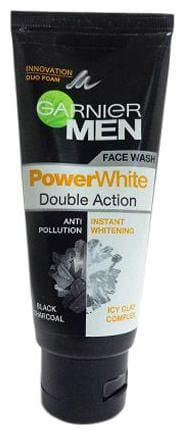 Garnier Men - Power White Double Action Face Wash 100 g