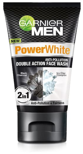 Garnier Men Power White Double Action Face Wash 100g