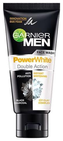 Garnier Men Face Wash - Powerwhte Double Action 50 Gm