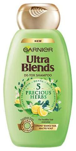Garnier Ultra Blends - 5 Precious Herbs Shampoo 175 ml