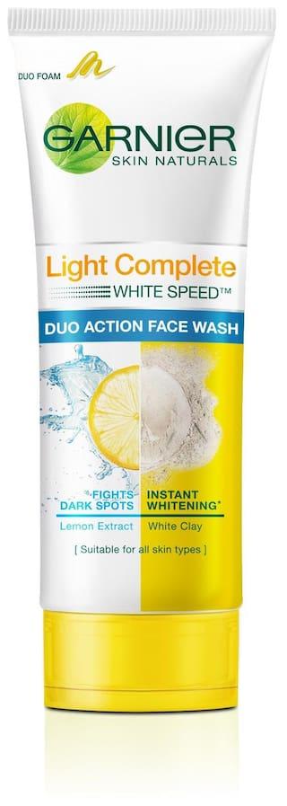 Garnier Light Complete Double Action Face Wash 100 G