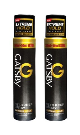 Gatsby Extreme Hold Set And Keep (Pack of 2)