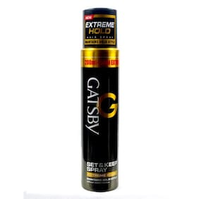 Gatsby Set & Keep Spray - Extreme Hold 200 ml
