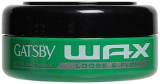 Gatsby Styling Wax Loose And Flow Hair Styler