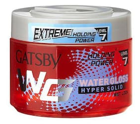 Gatsby Water Gloss Hyper Solid - Red 300 gm