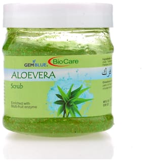 Gemblue Biocare Aloevera Scrub 500ml