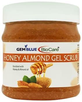 Gemblue Biocare Honey Almond Gel Scrub 500ml