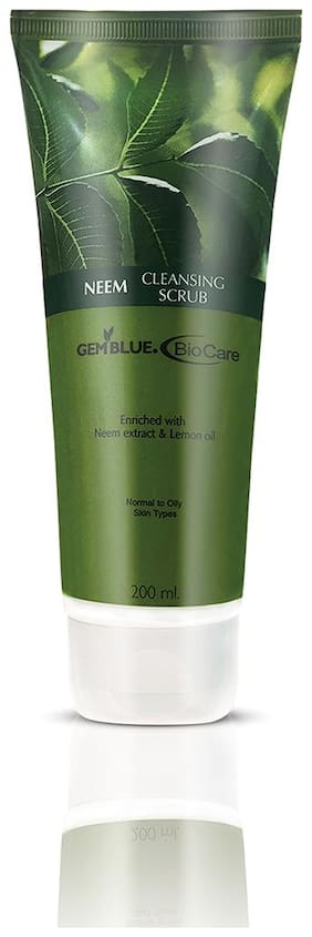 Gemblue Biocare Neem Cleasing Scrub 200ml