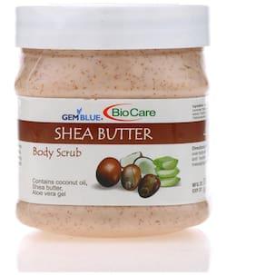 Gemblue Biocare Shea Butter Body Scrub 500ml