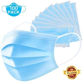 3 Ply Surgical Mask With Earloop ( Pack Of 100)