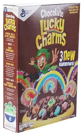General Mills Cereals - Chocolate Lucky Charms 340 g
