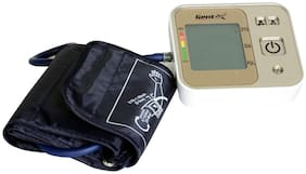 Gent-X Automatic Blood Pressure Monitor BI-03 Bp Monitor (White And yellow)
