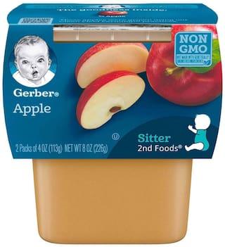 Gerber 2nd Foods for Sitter - Apples