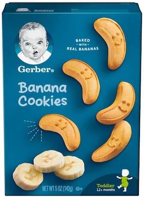 Gerber Banana Cookies for Toddler (5oz) 142g