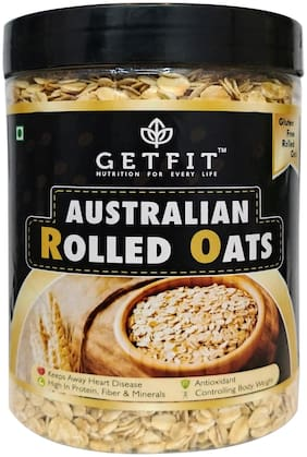 Getfit Australian Rolled Oats 500Gm (Pack Of 1)