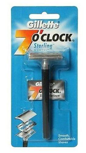 Gillette 7 O Clock Razor Sterling 1 pc