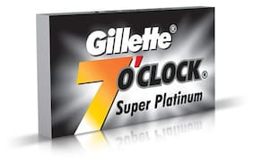 Gillette 7-o-Clock Super Platinum Blades 5 pcs