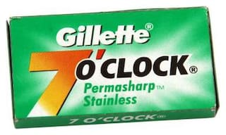 Gillette 7 O Clock - Permasharp Stainless Blade 5 pcs