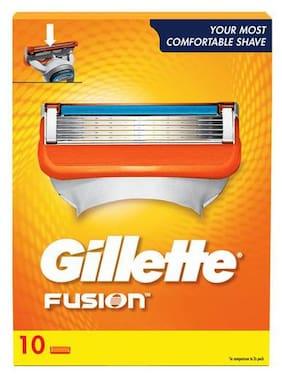 Gillette Fusion Shaving Blades 10 pcs