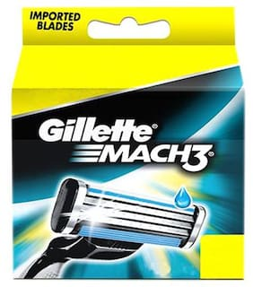 Gillette Mach 3 - Manual Shaving Razor Blades (Cartridge) 12 pcs