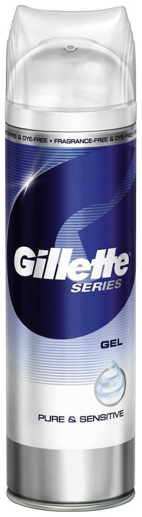 Gillette Mach3 Complete Defense Sensitive Shave Gel - 195 g