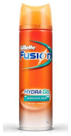 Gillette Pre Shave Gel Fusion - Hydra Gel Sensitive 195 g