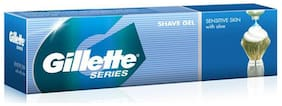 Gillette Series Shave Gel Tube Sensitive skin with Aloe 60 g