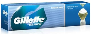 Gillette Series Shave Gel Tube Sensitive skin with Aloe 60 g