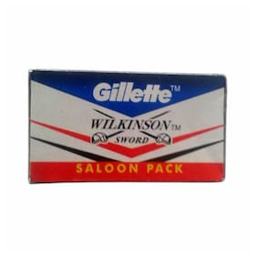 Gillette Shaving Blades - Wilkinson Sword Saloon Pack 10 pcs