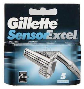 Gillette Shaving Blades - Sensor Excel 5 pcs