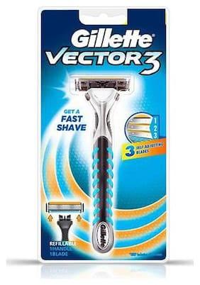 Gillette Vector 3 - Manual Shaving Razor 20 g
