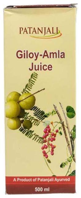 Patanjali Giloy Amla Juice (L) Immunity/Immunity Booster