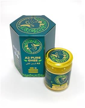 GirOrganic A2 Pure Ghee | 100% Desi Gir Cow | Vedic Bilona Method | 500 ml Glass Bottle | Grassfed, Cultured, Premium & Traditional Ghee | Immunity Booster