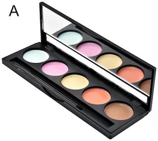 GlamGals 5 Color waterproof Concealer Palette,10g