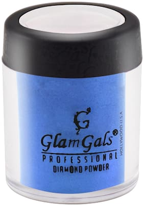 GlamGals Highlighter for face and Body  Blue 3.5 g