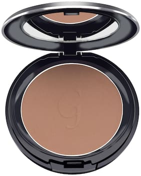 GlamGals HOLLYWOOD-U.S.A 3 in 1 Three Way Cake Compact Makeup+ Foundation + Concealer SPF 15, 14.5 g (Burnt Amber)