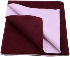 Glassiano Waterproof Baby Bed Protector Dry Sheet (70x50 CM) Small Size Pack of 1