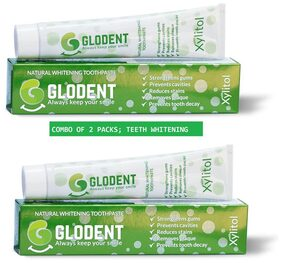 GLODENT - Natural Tooth Whitening Toothpaste 100gms