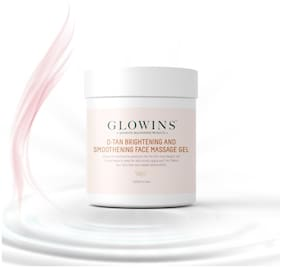 GLOWINS D-Tan Rich In Vitamin E,Protect it Form Sun UV Rays,Improve Acne Skin Ton Reduse Sign Of Lightening and Nourishing Gel 400 ml (Pack Of 1)