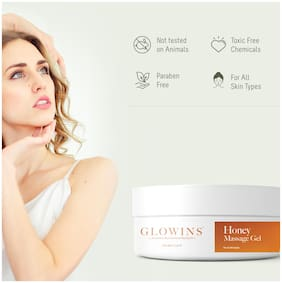 GLOWINS Malai Kesar Rich In Vitamin E,Protect it Form Sun UV Rays,Improve Acne Skin Ton Reduse Sign Of Lightening and Nourishing Gel 200 ml (Pack Of 1)