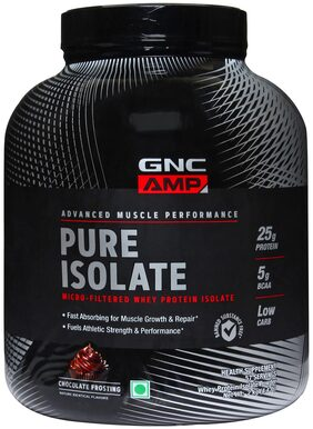 GNC AMP Pure Isolate Powder Chocolate 2kg