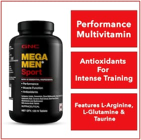 GNC Mega Men Sport Multivitamin 120 Tablets