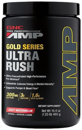 GNC AMP Gold Series Ultra Rush - 1.03 lbs, 0.46 kg (Juicy Watermelon)