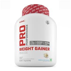 GNC Pro Performance  Weight Gainer - 6.6 lbs, 3 kg (Vanilla Ice Cream)