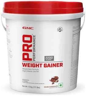 Gnc Pro Performance Weight Gainer Powder (Double Chocolate) 5kg