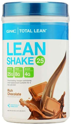 GNC Lean Shake 25 - For Weight Loss - 1.83 lbs, 832 g (Rich Chocolate)
