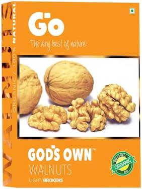 Go's Gods Own Organic Walnuts Light Broken 250 g