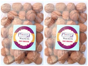 Goddess Premium Quality Walnuts 100 g each (pack of 2)