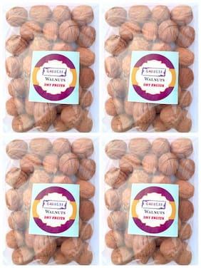 Goddess Premium Quality Walnuts 100 g each (pack of 4)